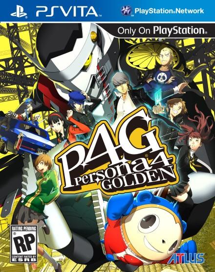 Persona 4 Box Art